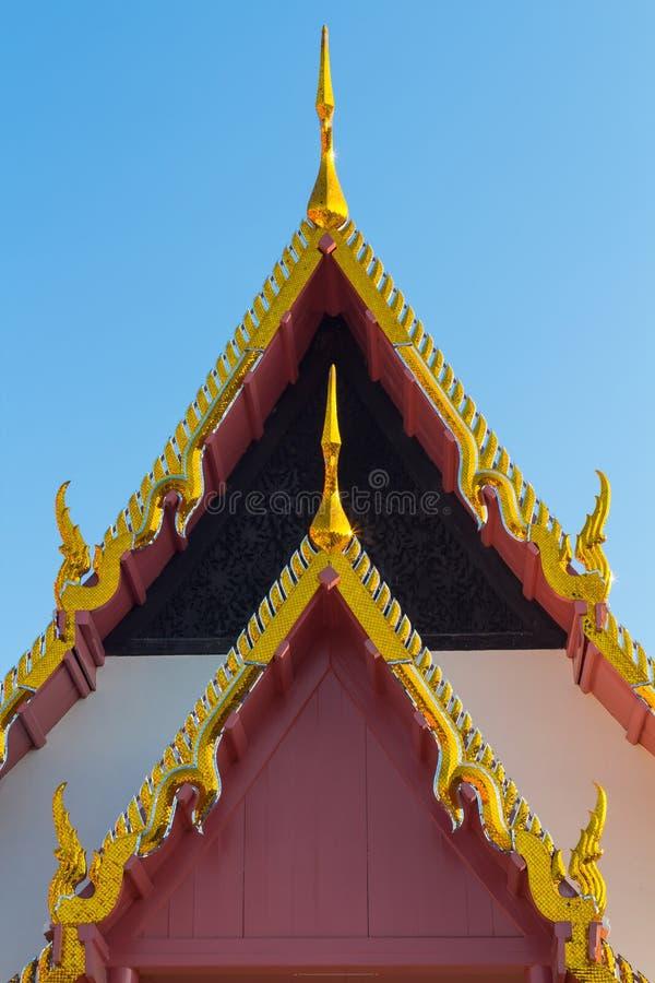De Kerk van het tempeldak royalty-vrije stock foto's