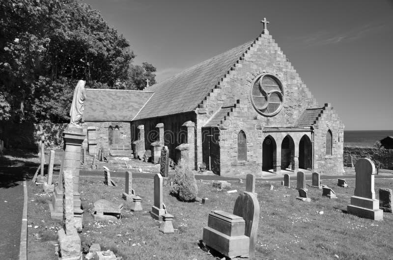 De Kerk van het westenwemyss stock foto's