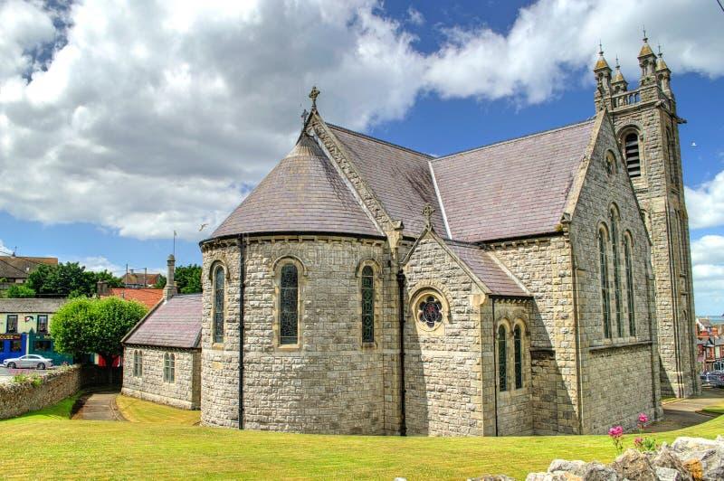 De Kerk van de Howthparochie in Ierland stock afbeelding