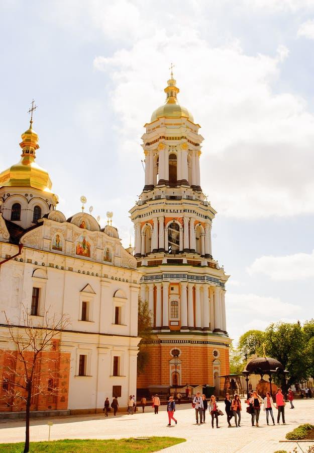 De kerk van Kiev de Oekraïne stock foto's