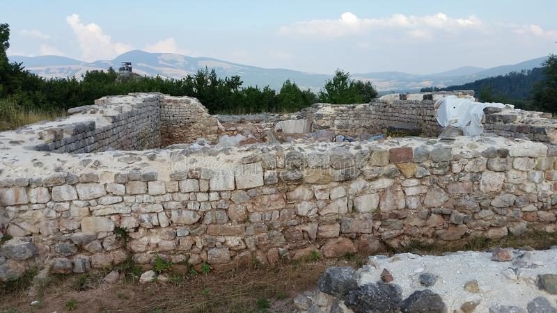 De Kerk van Kroatië Udbina van Heilig jacob stock foto's