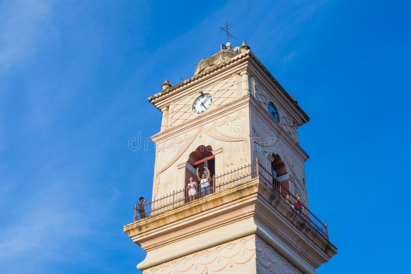 De Kerk van La Merced in Granada Nicaragua stock afbeeldingen