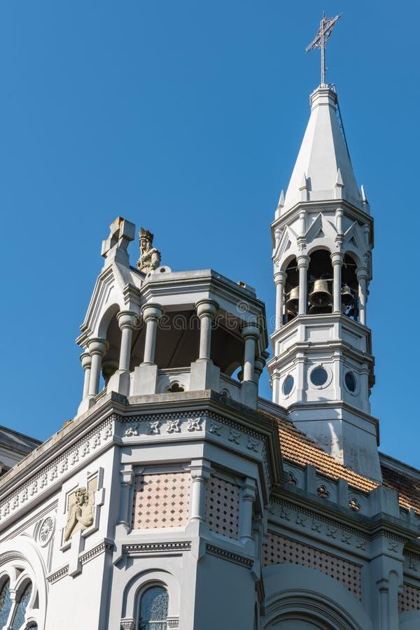 De kerk van La Salette stock afbeeldingen