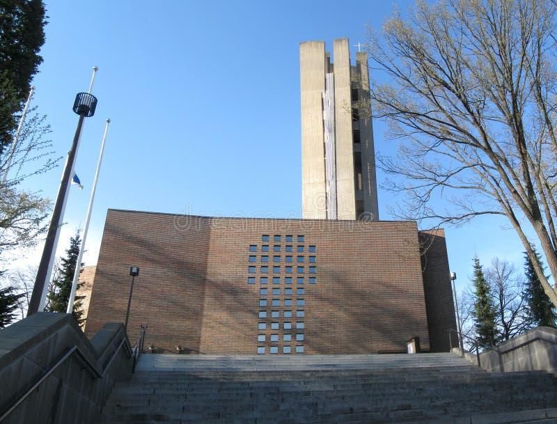 De Kerk van Lahti stock foto