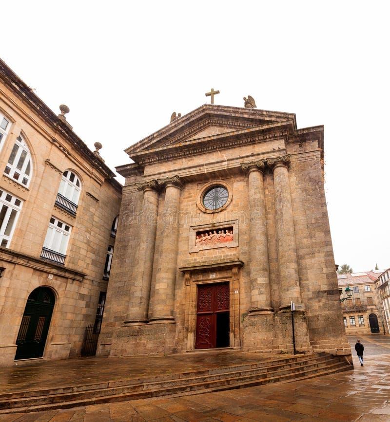 De kerk van Las Animas- de Zielen royalty-vrije stock foto's