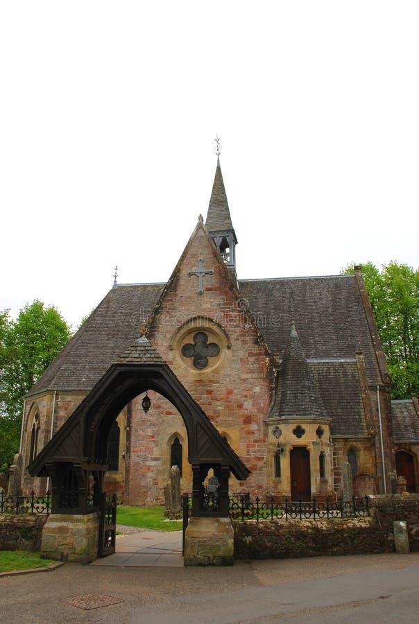 De Kerk van de Lussparochie, Schotland, het Verenigd Koninkrijk stock afbeeldingen