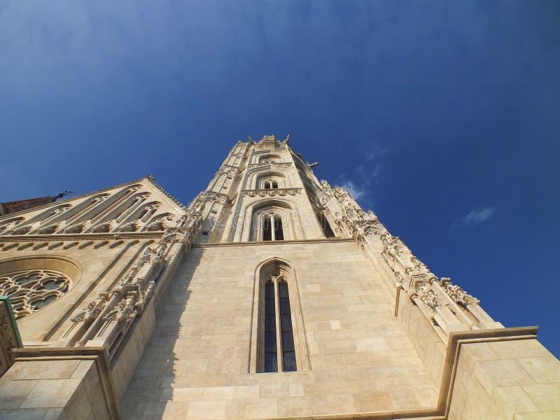 De kerk van Matthias royalty-vrije stock afbeeldingen