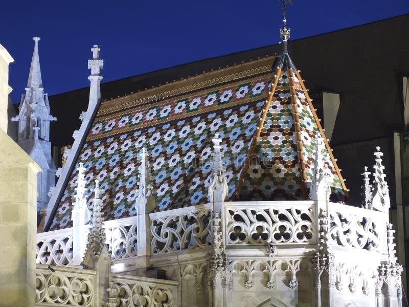 De kerk van Matthias stock afbeelding