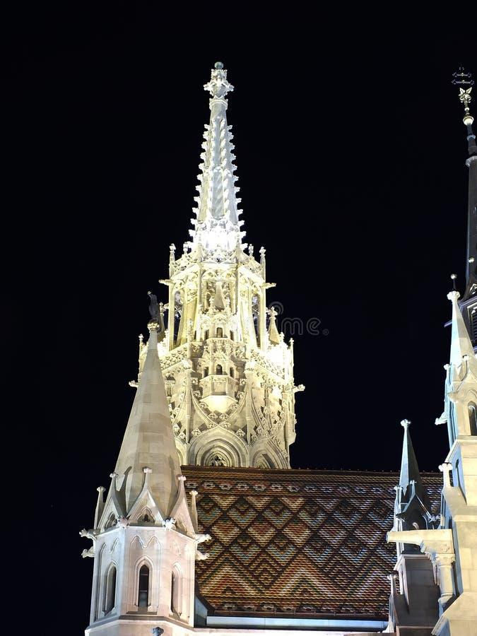 De kerk van Matthias royalty-vrije stock foto's