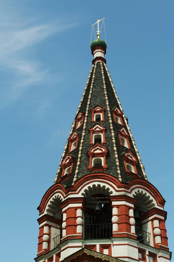 De Kerk van Moskou royalty-vrije stock foto