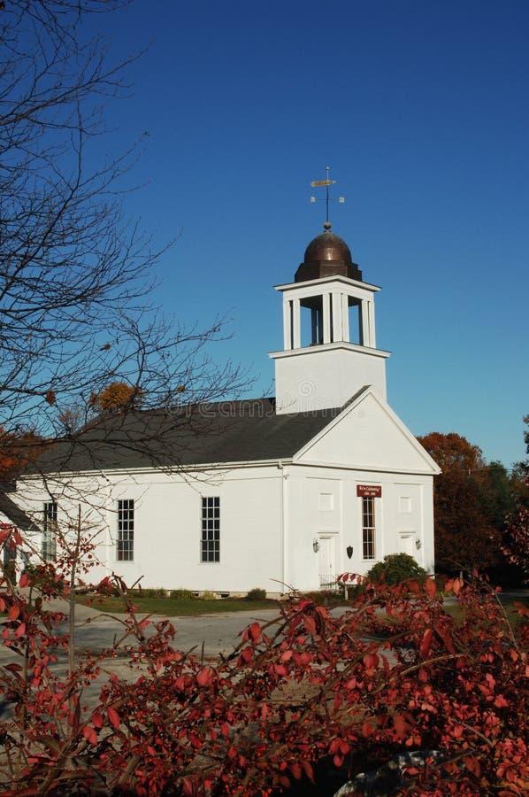 De Kerk van New England stock foto