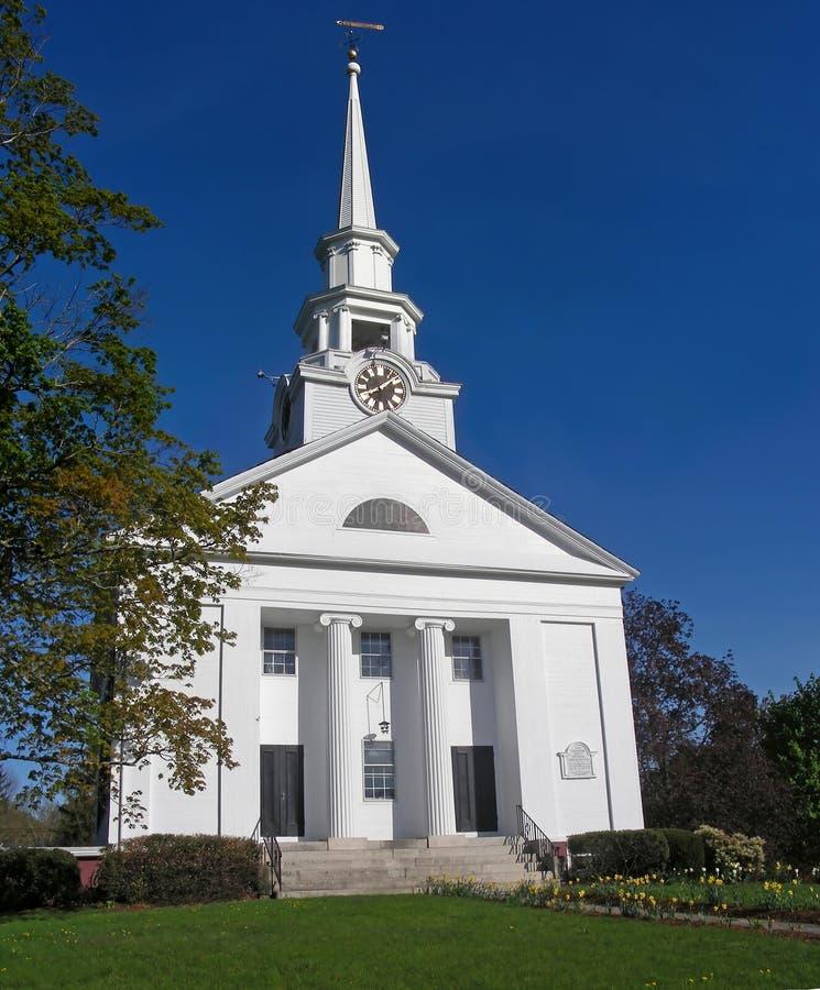 De Kerk van New England royalty-vrije stock foto