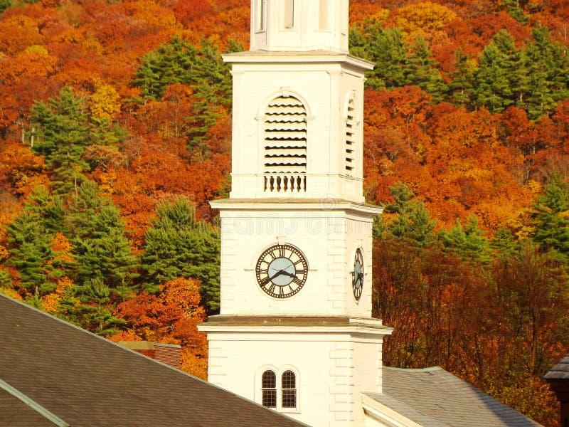 De Kerk van New England royalty-vrije stock afbeeldingen