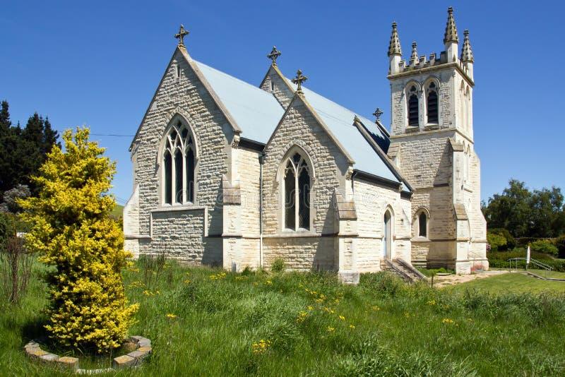 De kerk van Nieuw Zeeland, st. martins in duntroon royalty-vrije stock foto