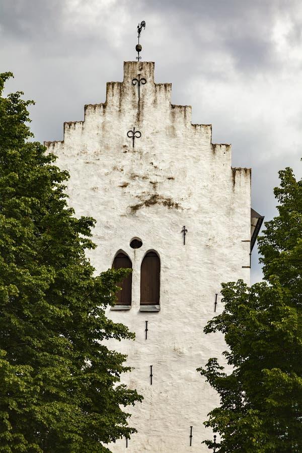 De kerk van Norravram royalty-vrije stock fotografie