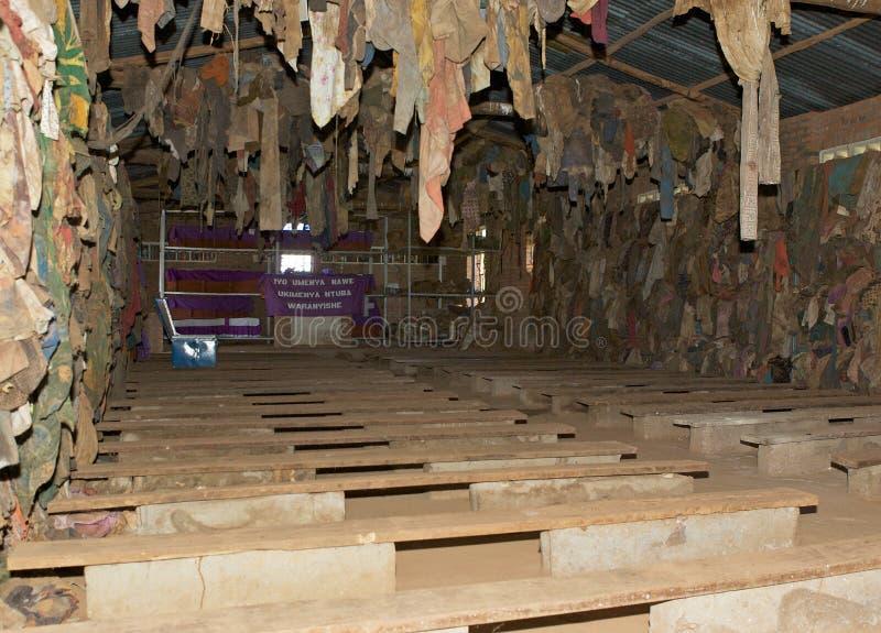De kerk van Ntarama royalty-vrije stock fotografie