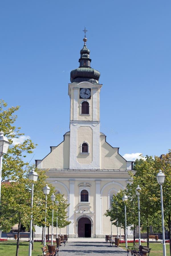 De kerk van Ogulin royalty-vrije stock foto's