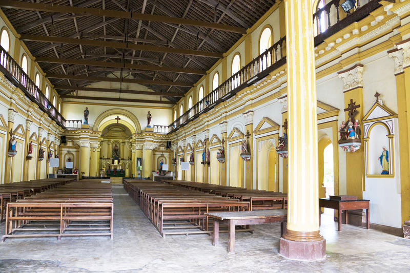 De Kerk van Pamunugama, Colombo, Sri Lanka royalty-vrije stock afbeeldingen