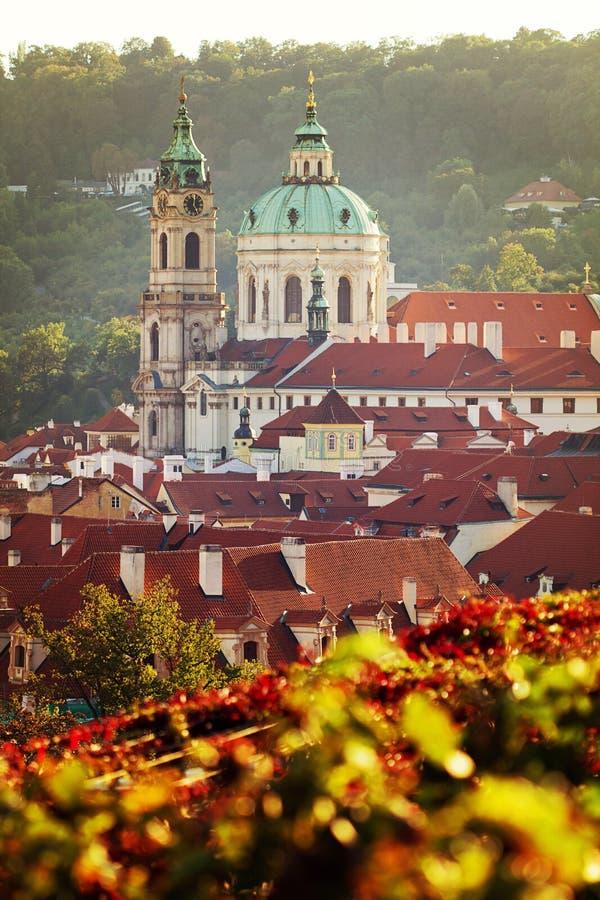 De kerk van Praag stock foto's