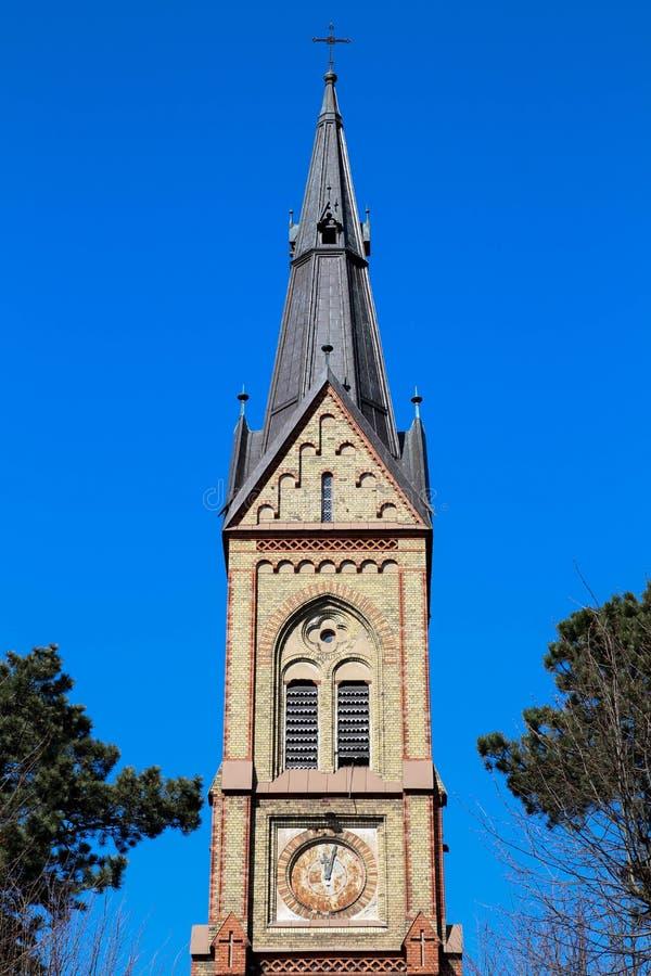 De Kerk van Riga Luter royalty-vrije stock afbeeldingen