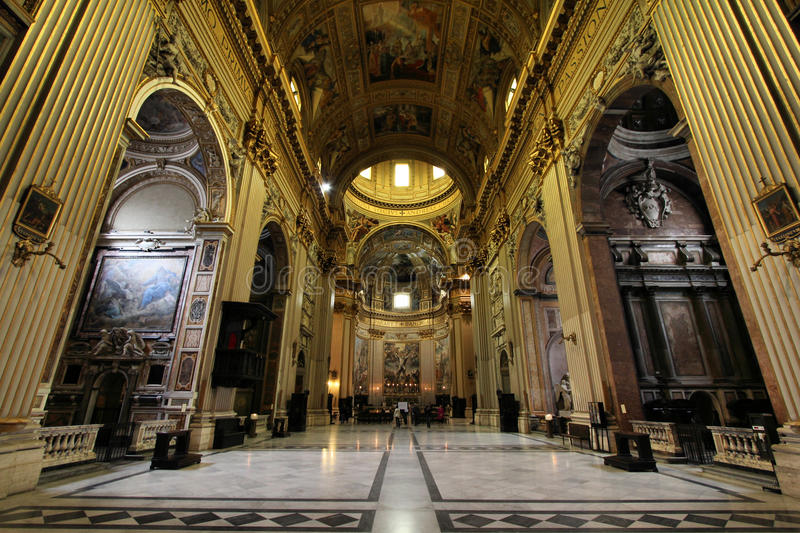 De kerk van Rome stock fotografie