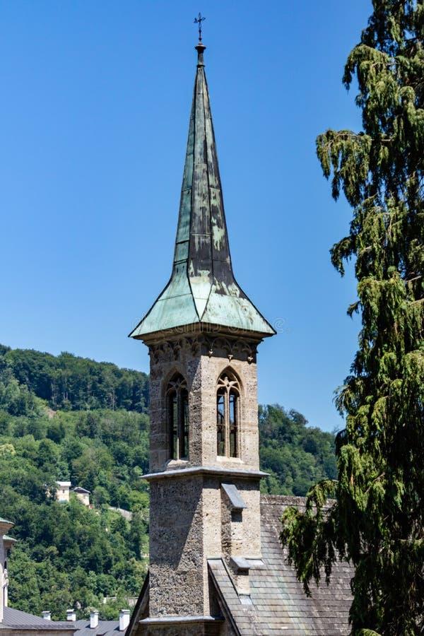 De kerk van Salzburg royalty-vrije stock foto