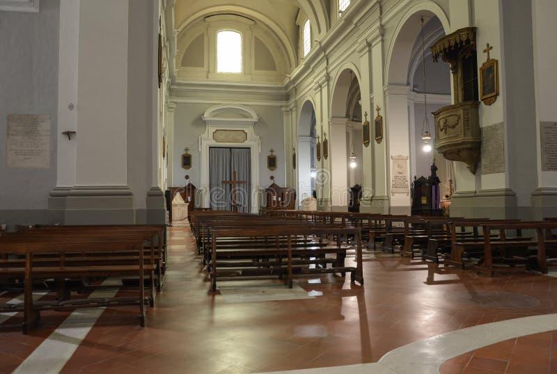 De kerk van San Francesco, Urbino, Italië royalty-vrije stock foto's