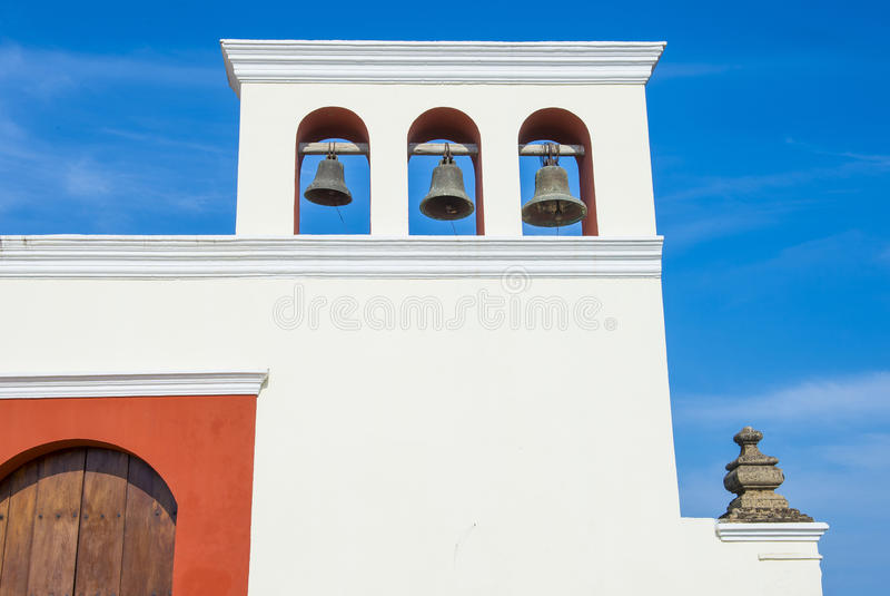 De kerk van San Francisco in Granada Nicaragua stock afbeeldingen