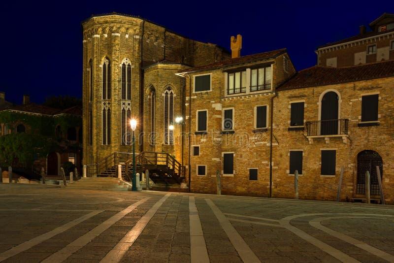 De kerk van San Gregorio in Venetië Italië stock fotografie
