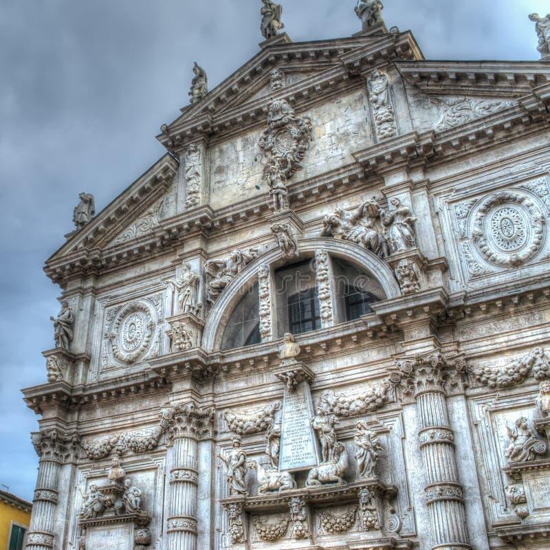 Download De kerk van San Moisè stock foto. Afbeelding bestaande uit dramatisch - 54075552