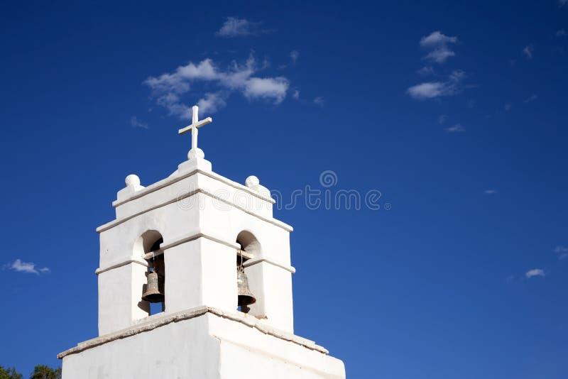 De kerk van San Pedro DE Atacama royalty-vrije stock foto