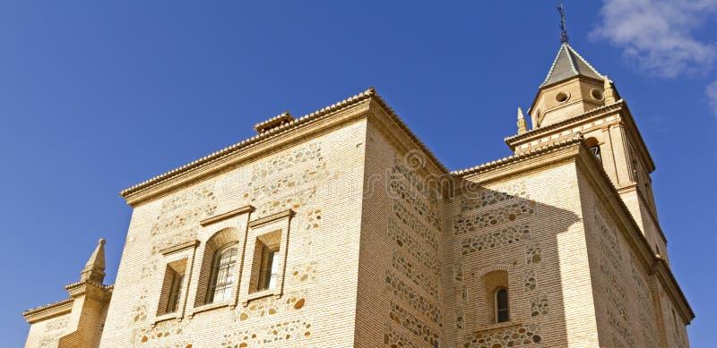 Download De Kerk Van Santa Maria, Alhambra, Granada, Spanje Stock Afbeelding - Afbeelding bestaande uit kathedraal, rampart: 29506099