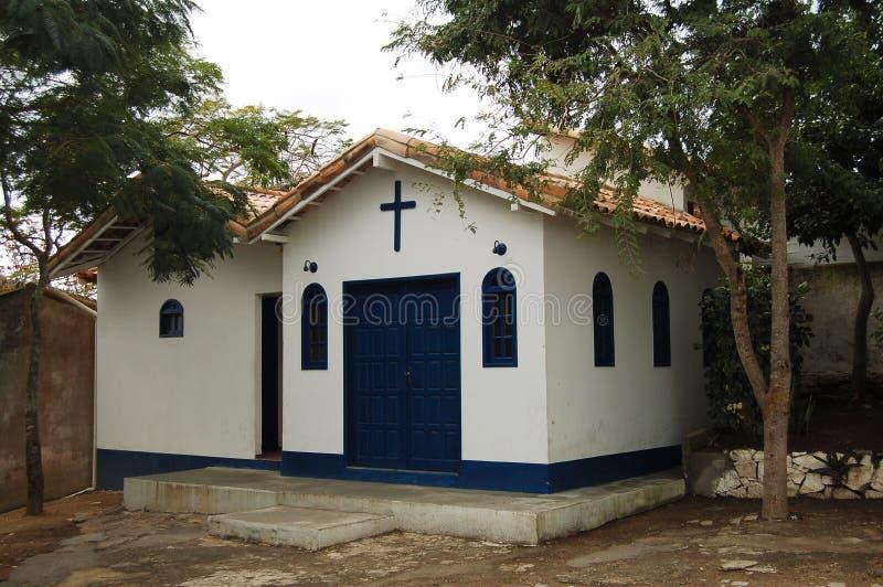 De Kerk van Santannas weinig chapel- Buzios - Rio de Janeiro royalty-vrije stock foto