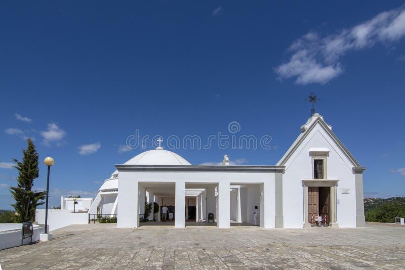 De kerk van senhora DE piedade van Santuario DE nossa in de stad stock fotografie