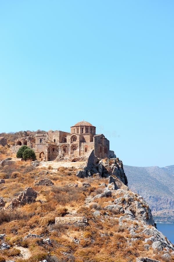 De kerk van Sofia van Agia stock foto