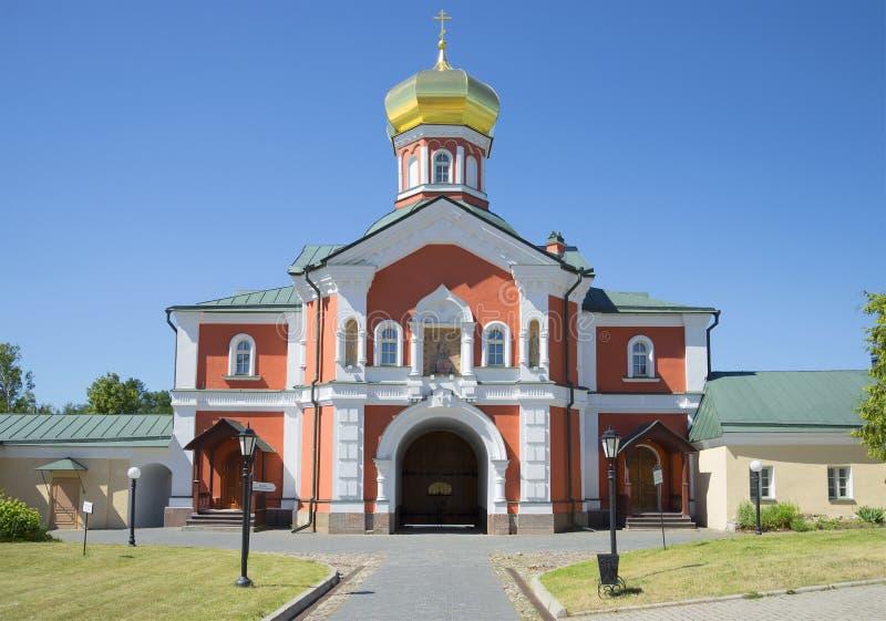De Kerk van St Philip, Metropolitaans van Moskou Het klooster van Svyatoozerskyvalday Iversky stock afbeelding