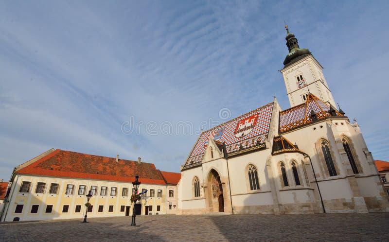 De kerk van St Teken stock fotografie