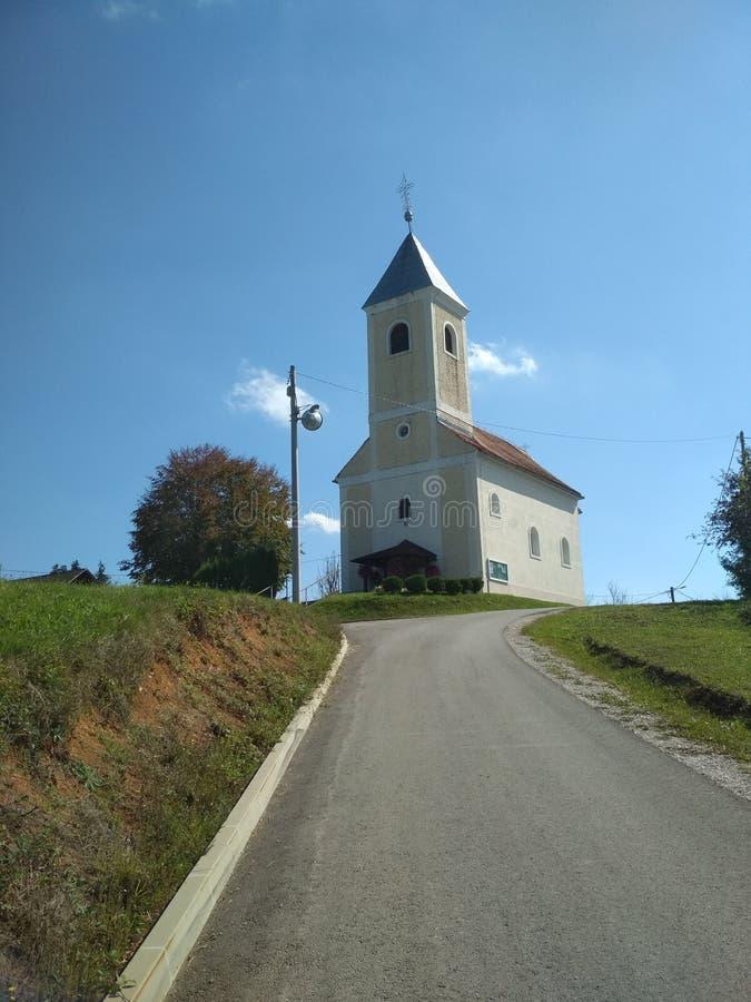 De Kerk van St Vitus stock afbeeldingen