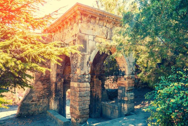 De kerk van Surbsarkis, Feodosia, de Krim stock foto