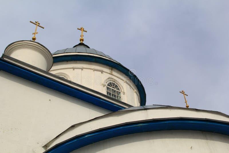 De kerk van tempelrusland royalty-vrije stock afbeeldingen