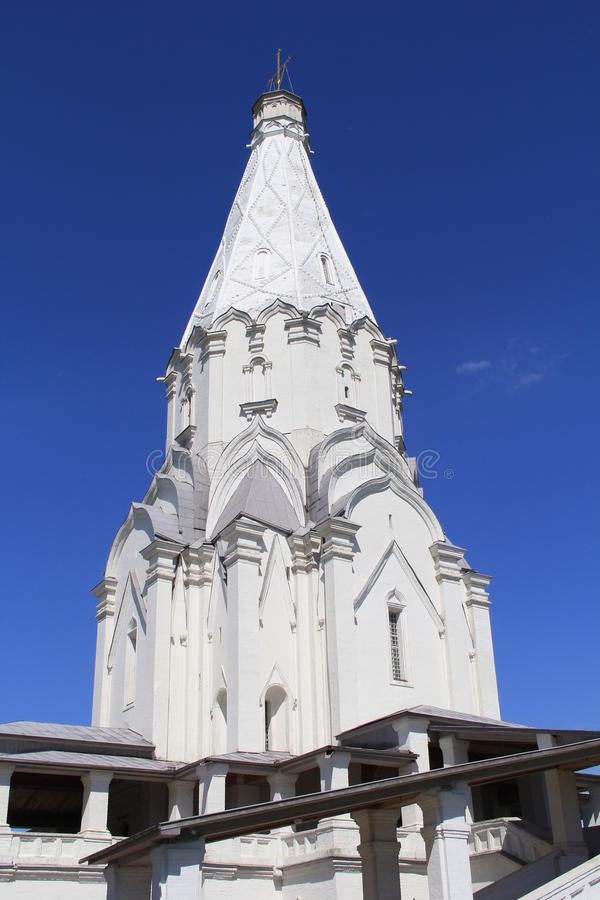 De kerk van tempelrusland stock fotografie
