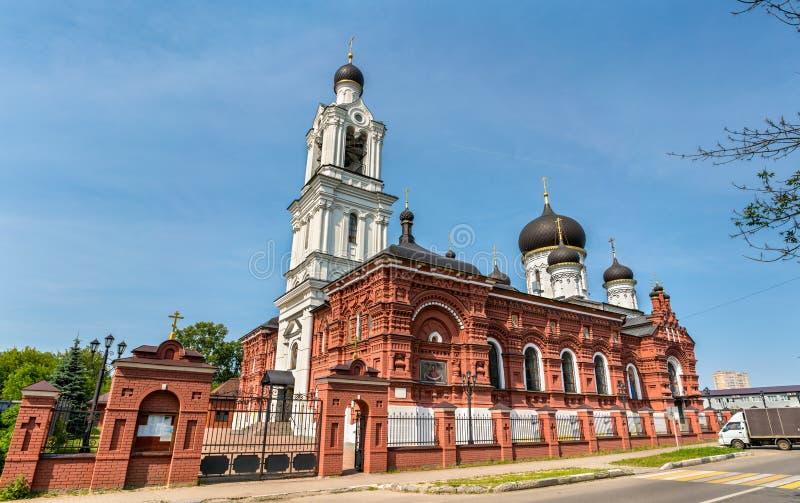 De Kerk van Theotokos van Tikhvin in het Gebied van Noginsk - van Moskou, Rusland royalty-vrije stock foto