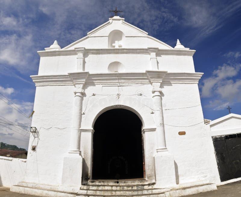 De kerk van Thomas van Santo royalty-vrije stock afbeelding