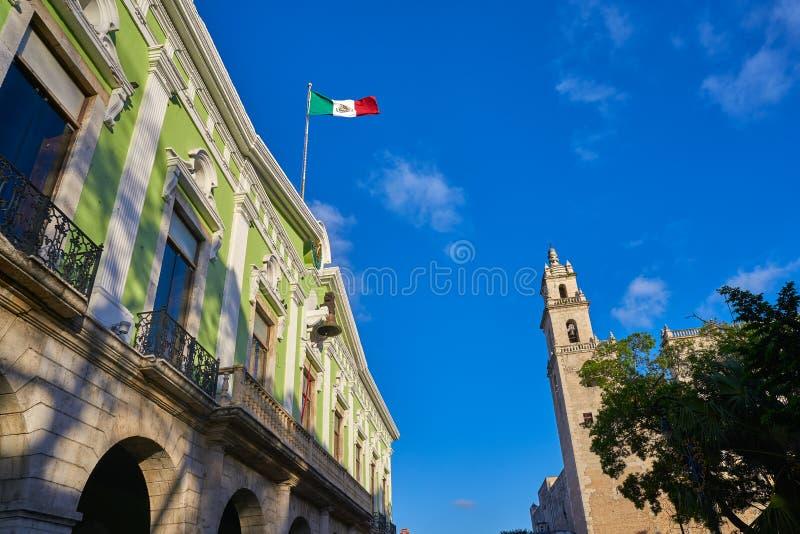 De kerk van Valladolid San Gervasio van Yucatan stock foto