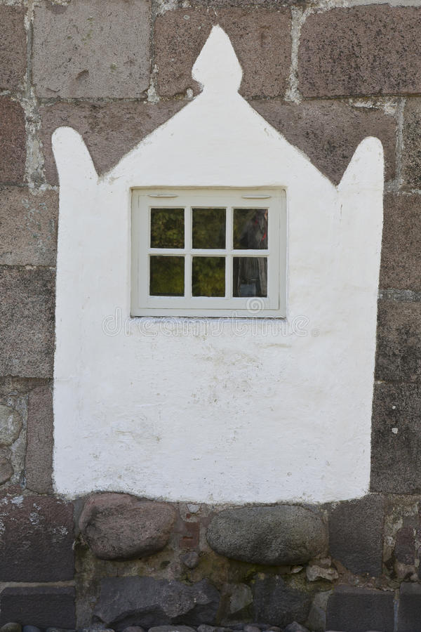 De kerk van vensterthorsted, Denemarken royalty-vrije stock afbeelding