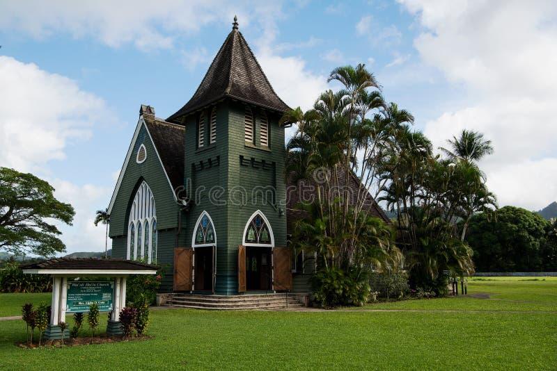 De Kerk van Waiolihuiia royalty-vrije stock fotografie