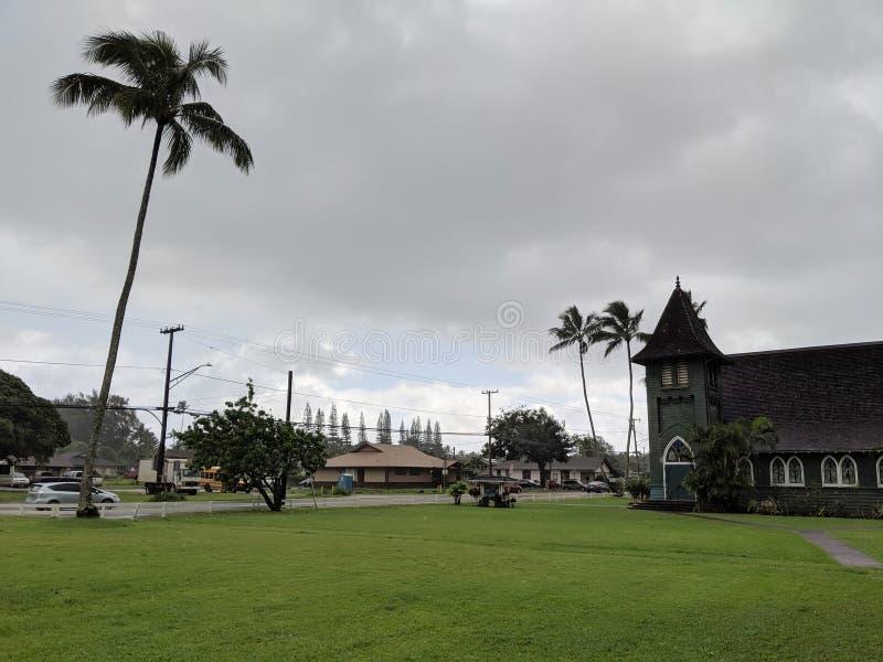 De Kerk van Waiolihuiia royalty-vrije stock afbeelding