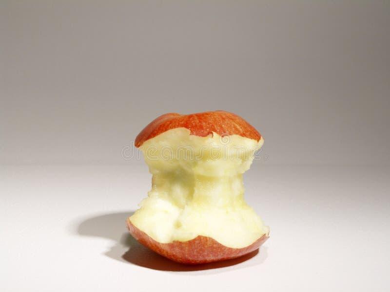 De kern van de appel royalty-vrije stock afbeeldingen