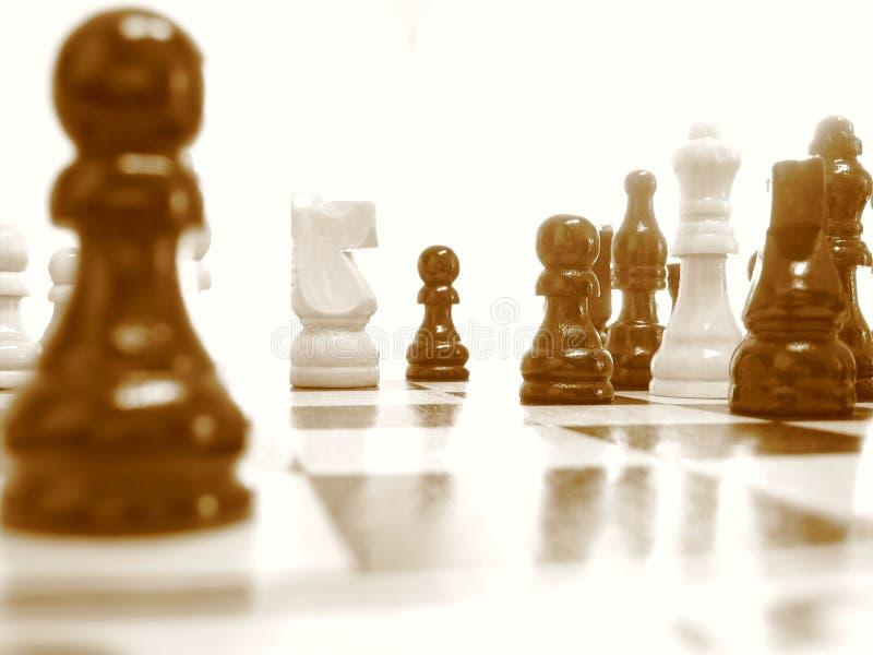 De kern van het schaak stock fotografie