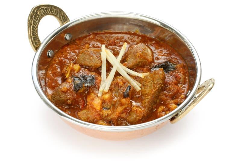 De kerrie van het schaap, Indisch voedsel royalty-vrije stock foto's